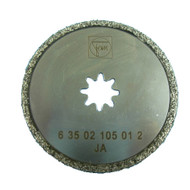 FEIN MultiMaster DIAMOND-COATED SAW BLADE 63mm Dia (flat)