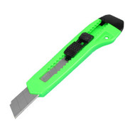 SNAP OFF KNIFE 'AMERICAN LINE' COLOURED 18mm with RETRACTABLE BLADE use blades RBB18010DD, RBB18050PD, RBN18010PD, RBN18010PDSB, RBN18050PD.