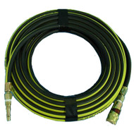 SAFEGARD AIRLINE COMPLETE - 10 Metre 1/4 I.D. HOSE with PCL VERTEX  COUPLING & STANDARD ADAPTOR MALE