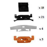 HONDA LEGEND 1987 - 1991 WINDSCEEN CLIP KIT PACK OF 48