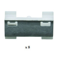 BMW 7 SERIES E38 (94-02) WINDSCREEN SIDES CLIP KIT (8)
