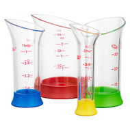OXO 4 Piece Mini Measuring Beaker Set
