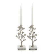 Michael Aram Botanical Leaf Candlesticks (Set of 2)