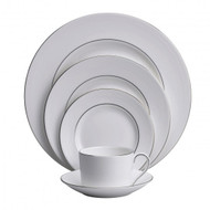 Vera Wang Wedgwood Blanc Sur Blanc Dinnerware Set (Service for One)