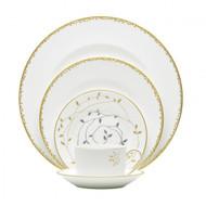 Vera Wang Wedgwood Gilded Leaf Dinnerware Set (Service for One) (091574095)