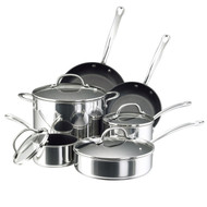 Farberware Millennium Stainless Steel Nonstick 10 Pc. Cookware Set