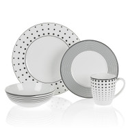 Mikasa Cheers Dinnerware Set (Service for Twelve)
