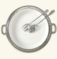 Match Convivio Round Serving Platter