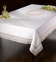 European Medallion Tablecloth
