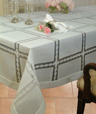 European Modern Accent Tablecloth
