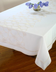 European Pebble Tablecloth