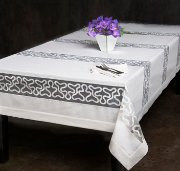 European Pinnacle Organza Tablecloth