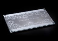 Metalace Late Blooming Challah Board