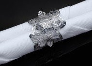 Metalace Wild Beauty Napkin Ring Set