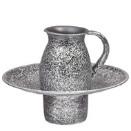 Silver Textured Mayim Achronim (26940)