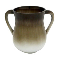 Aluminum Washing Cup - Brown