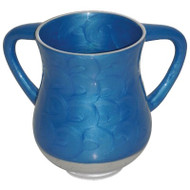 Unbreakable Aluminum  Washing Cup- Blue Marble