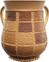 Polyresin Washing Cup- Brick