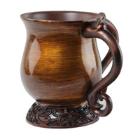 Brown/Copper Polyresin Washing Cup