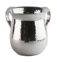 Stainless Steel Washing Cup- Hammered