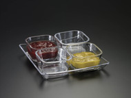 Bowl with Tray Set