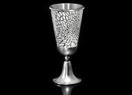 Metalace Organic Lace Kiddush Cup