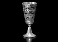Metalace Ribbon Lace Kiddush Cup (Black)