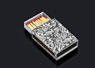 Metalace Royal Jacquard Matchbox