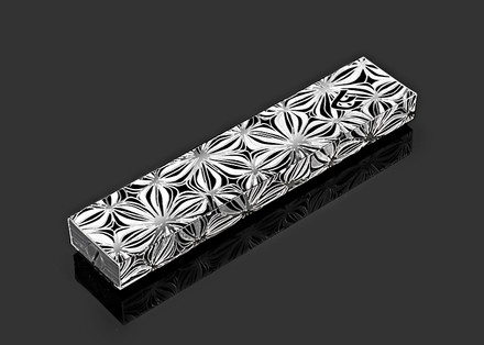 Metalace Flower Shades Mezuzah