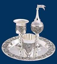 Grape Silver Plated Havdalah Set