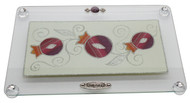 Lily Art Pomegranate Challah Board- Rainbow