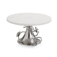 Michael Aram White Orchid Cake Stand- White