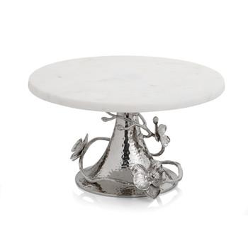 Michael Aram White Orchid Cake Stand- White