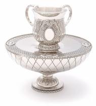 Silver Plated Mayim Achronim Set