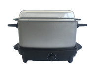 Royalux Crock Pot/Slow Cooker and Griddle with Handles