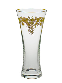 Vase with 24K Gold Artwork
