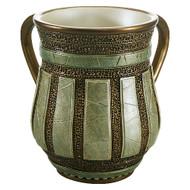 Green Polyresin Washing Cup