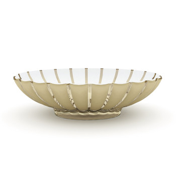 Guzzini Grace Centerpiece/ Fruit Bowl- Sand