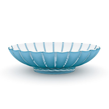 Guzzini Grace Centerpiece/ Fruit Bowl- Blue