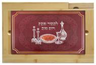 Glass Challah Board & Knife