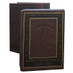 Suede Leather Zmiros Holder - Brown (137310B)