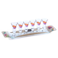 Lily Art Liquor Set- Pomegranate (LLA-507127-34)
