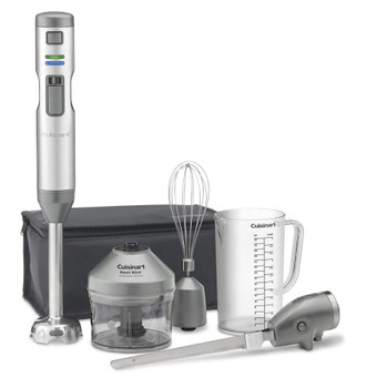 Cuisinart Smart Stick® Variable Speed Cordless Hand Blender w/ Electric Knife (CSB-300)