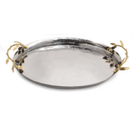 Michael Aram Olive Branch Oval Serving Tray (175078)