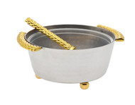 Godinger Herringbone Dip Holder (70241)