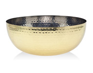 Godinger Hammered Gold Salad Bowl (Large) (19464)