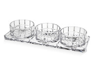 Godinger Radius 4 Pc Relish Set (49266)