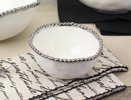 Pampa Bay Salerno Small Bowl (CER-1717-W)
