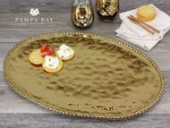 Pampa Bay Monaco Large Oval Platter (CER-1723-G)