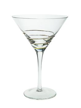 Swirl Gold Martini Glasses (Set of 4) (CSMG390)